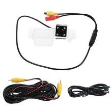 Ночное видение 4 светодиодный CCD Автомобильная камера заднего вида Парковка для KIA Rio 2007-2011 K2 седан