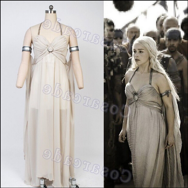 daenerys targaryen halloween costume a song of ice and fire game of thrones daenerys targaryen costume in movie tv costumes from novelty special use on