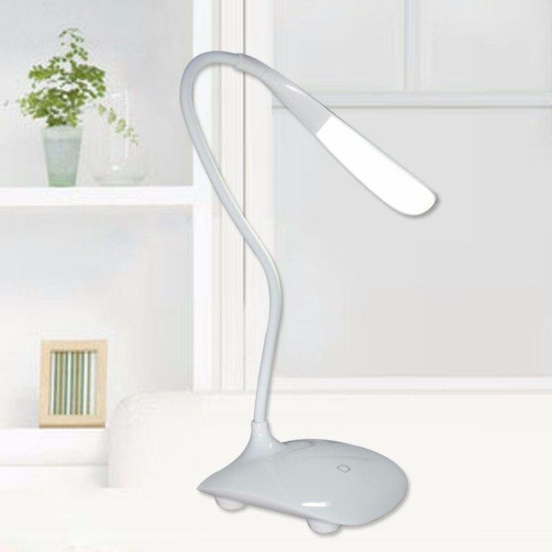 Stepless Dim Light Led Desk Lamp Touch Sensor Switch Table