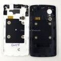 Для LG Google Nexus 5 Оригинальный Новый Назад Задний Корпус Батареи Панель двери + NFC Flex Кабель С Логотипом Задняя Крышка Крышка части