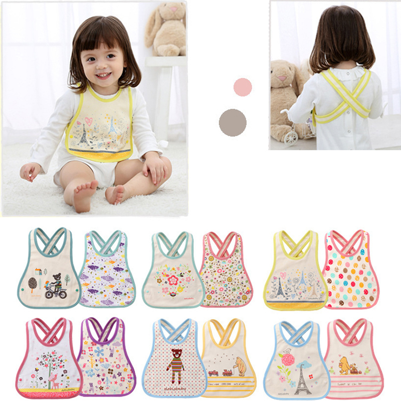 Newborn Baby Bibs Infant Cartoon Bibs Baby Boys Girls Feeding Clothing Bibs & Burp Cloths BB075