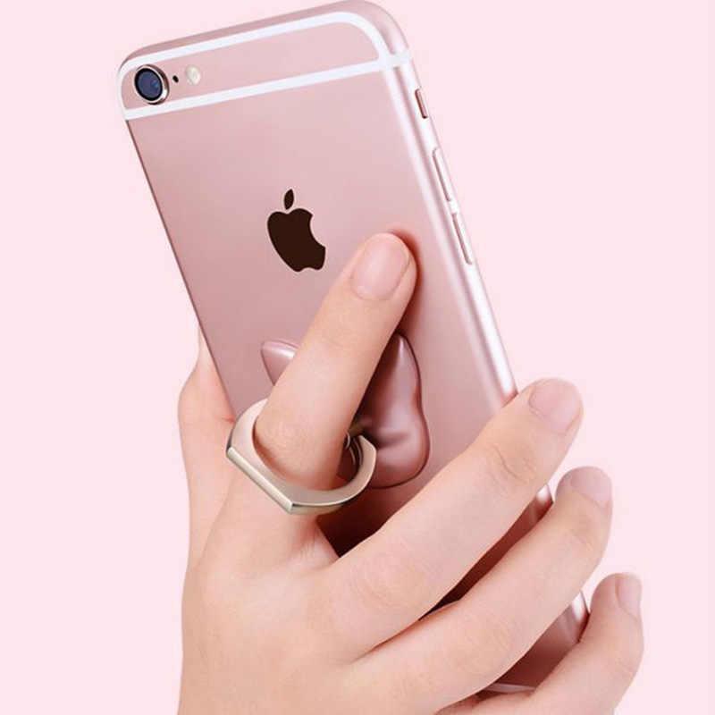 Support de support de Smartphone de téléphone portable d'anneau de doigt pour l'iphone XS Huawei Samsung