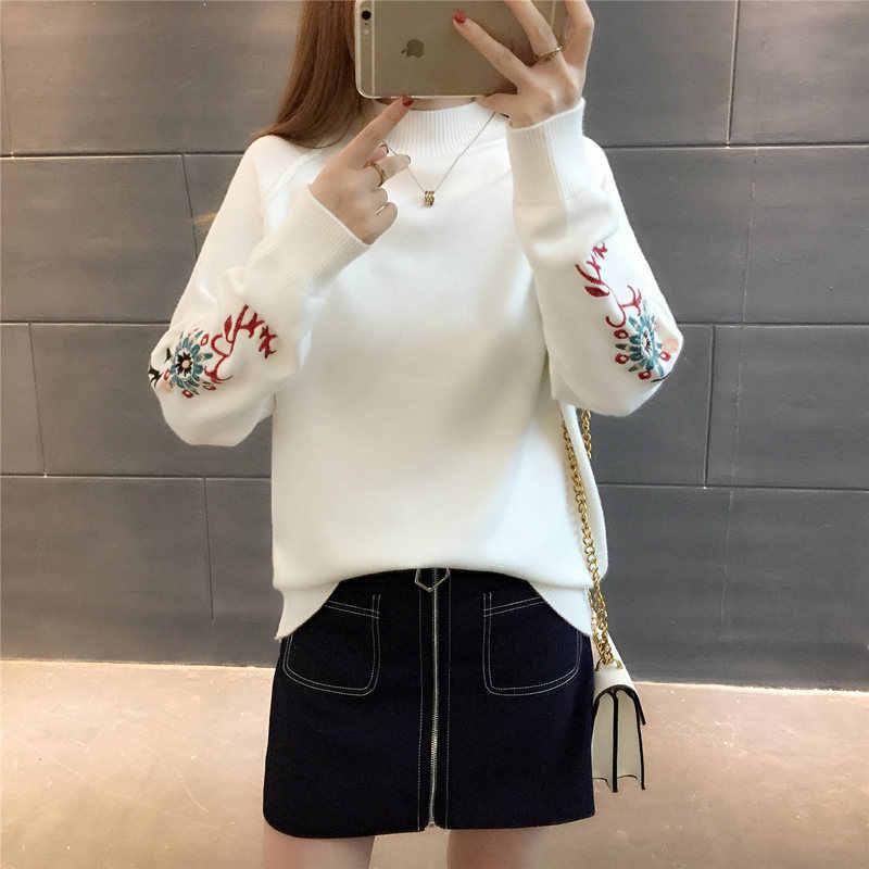 저렴한 도매 2018 새로운 가을 겨울 뜨거운 판매 여성 패션 캐주얼 따뜻한 좋은 스웨터 G201
