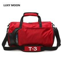 Female Travel Handbag Fashion Design Men Women Luggage Duffle Tote Bags Shoulder Crossbody Overnight Bag With Shoes Pocket