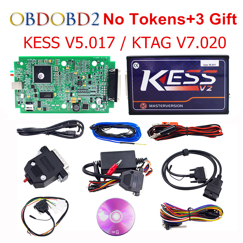 imágenes para Master Online KTAG KESS KESS V2 V5.017 5.017 No Token V7.020 Kit Gerente Sintonía OBD2 ECU Programador K-TAG 7.020 V2.23 Camión Coche