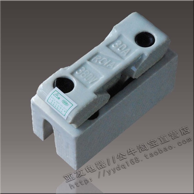 plug fuse box aliexpress com buy ceramic fuse box 30a plug in fuse fuse box ceramic fuse box 30a