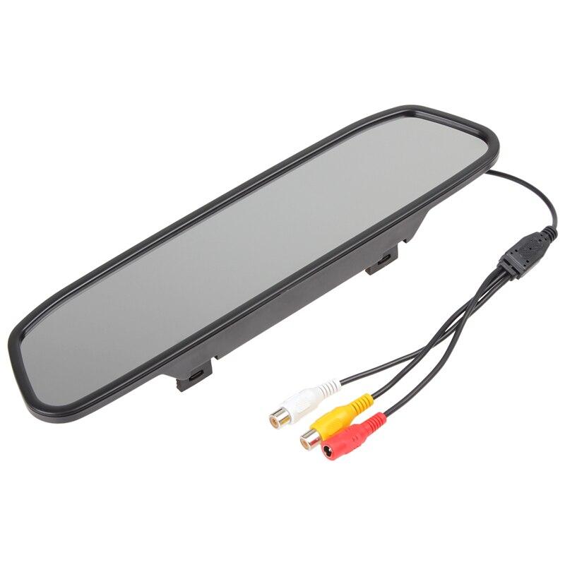 Universaalne auto 4.3 Digitaalne TFT LCD peegel Autode parkimise - Autode Elektroonika - Foto 5