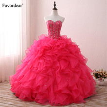 Favordear Ball Gown Sweet 16 Dress Quinceanera Dresses