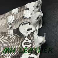 CS001 Natural color skin with head for leather craft DIY