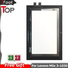 Per Lenovo Miix 3-1030 miix 3 1030 Miix3 LCD Display Touch del Pannello Dello Schermo Digitizer Assembly FP-TPFT10116E-02X FP-TPFY10113E(China)