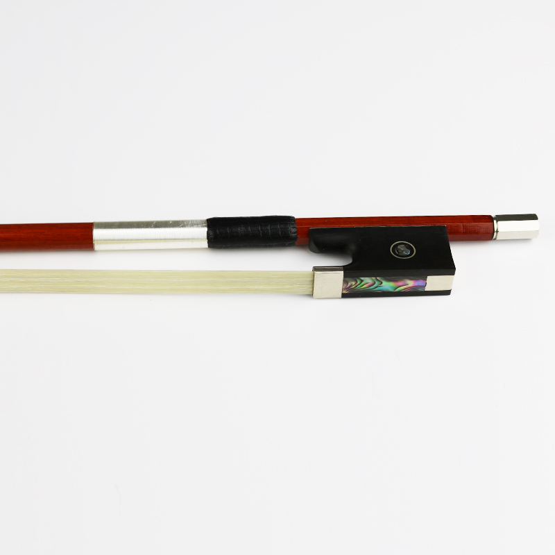 Master NEW 4/4 Genuine Pernambuco Violin Bow Natural Mongolia Horsehair Ebony Frog Fast Response Violin Parts Accessories