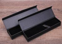 QSHOIC 10 יח'\סט מתנות תיבת creative בית ספר משרד מכתבים משרד אספקת עט תיבת עט תיבת עט מתנת עסק שחור קופסא מתנה