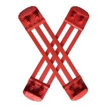 Синие/красные Т-пружины для прыжков обуви EU36-38(размер L