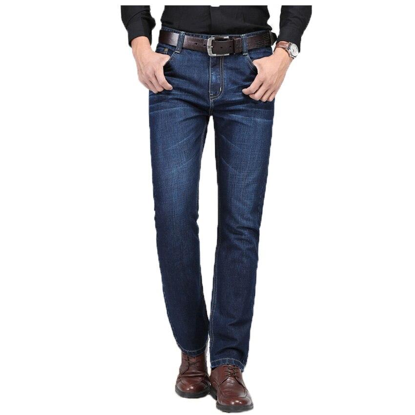 2017 Men Softener Deep Blue Jeans Homme Slim Elastic Jeans Skinny Jeans Men Brand Mens Designer Jeans Pants 56wy