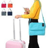 HAOCHU Unisex Travel Crossbody Schulter Handtasche Kleidung Ordentlich Veranstalter Frauen Kosmetik Tragbaren Tablet Computer Tasche