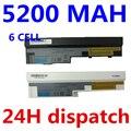 5200 мАч 11.1 В аккумулятор для ноутбука Lenovo IdeaPad S100 S10-3 S205 S110 U160 S100c S205s U165 L09M6Y14 L09S6Y14 6 клеток