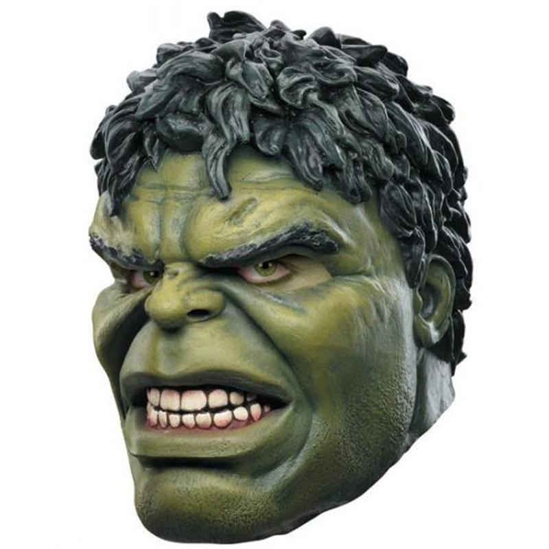 Us 14 67 16 Off Movie Avengers Endgame Marvel Superhero Hulk Latex Mask Full Head Helmet Halloween Party Cosplay Props New In Boys Costume
