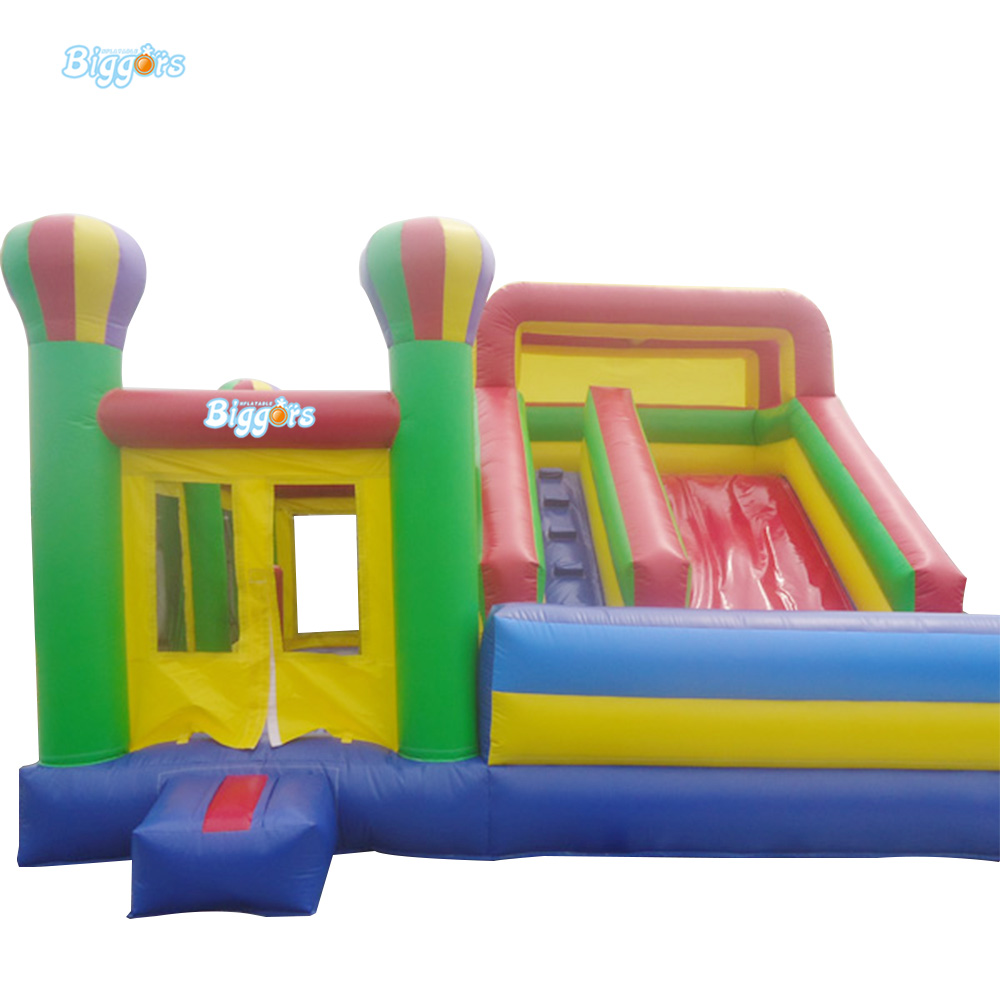 Low Price Inflatable Bouncing Castle Playground with Slide commercial sea inflatable blue water slide with pool and arch for kids