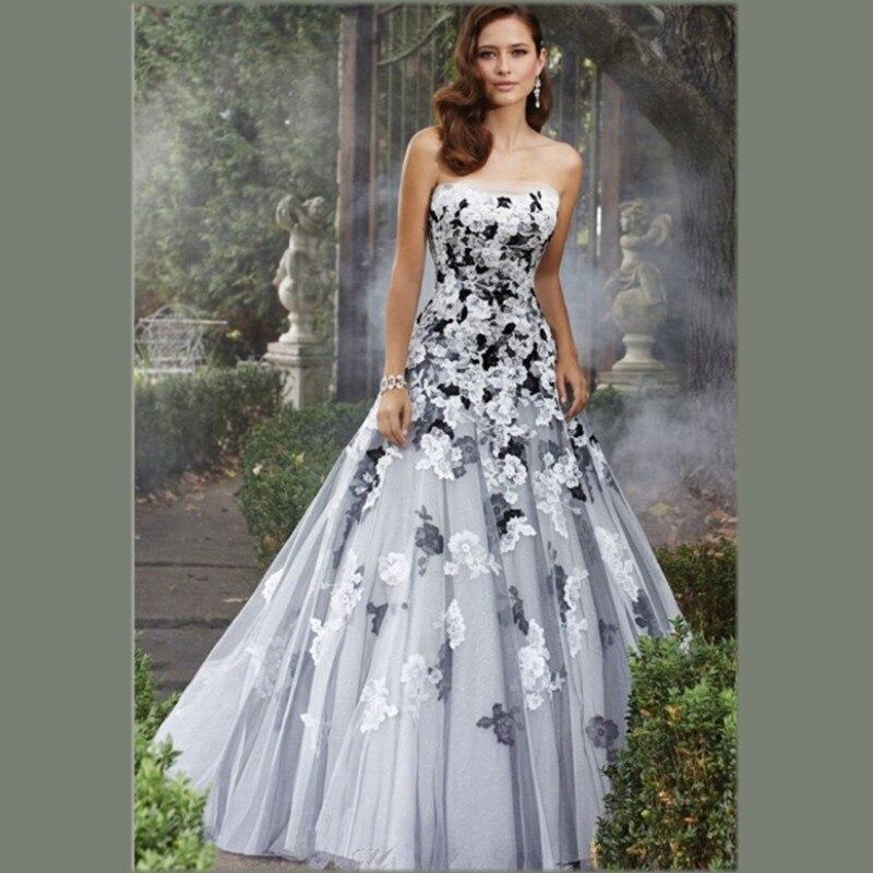 Black Lace Wedding Gown Promotion-Shop for Promotional Black Lace ...