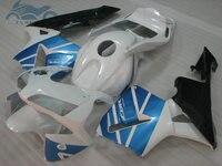 ABS plastic Injection fairing kit fit for Honda CBR600RR 2003 2004 CBR 600RR 03 04 aftermarket fairing kits blue white DV66