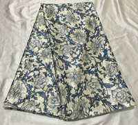 2015 Latest Design Flower Pattern African Fabric Satin Silk Fabric For Clothes Garment FS3 1