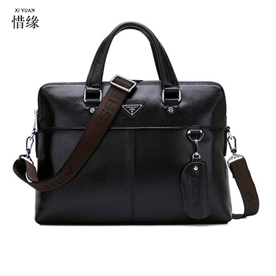XIYUAN Genuine Leather Men Briefcase Business Messenger man Shoulder Bags male Luxury Laptop Hand Bags Fashion Men's Travel bag xiyuan genuine leather handbag men messenger bags male briefcase handbags man laptop bags portfolio shoulder crossbody bag brown