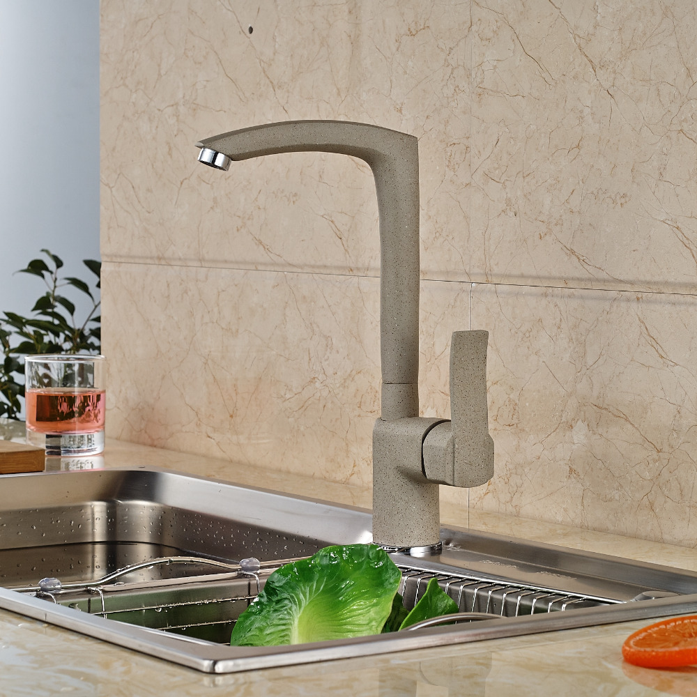 Single Handle Kitchen Mixer Faucet Kitchen Hot Cold Water Taps Deck Mount deck mount single handle hot
