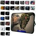 Neopreno Suave 7 10 12 13 14 11.6 13.3 15 17 Laptop manga de la computadora bolsa casos de la cubierta de la bolsa protector para macbook dell acer asus