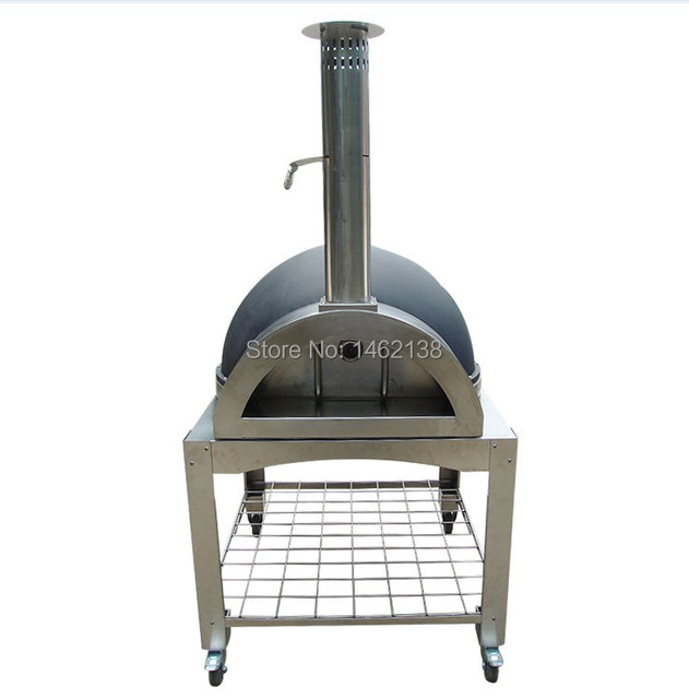 Cooking Tools Stainless Steel Portable Wood Fired Pizza Oven ...