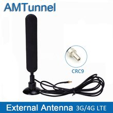 3G 4G antena 4G LTE antena CRC9 conector 4G antena del Router 16dbi para Huawei 3G módem 4G antena Mifi Router(China)
