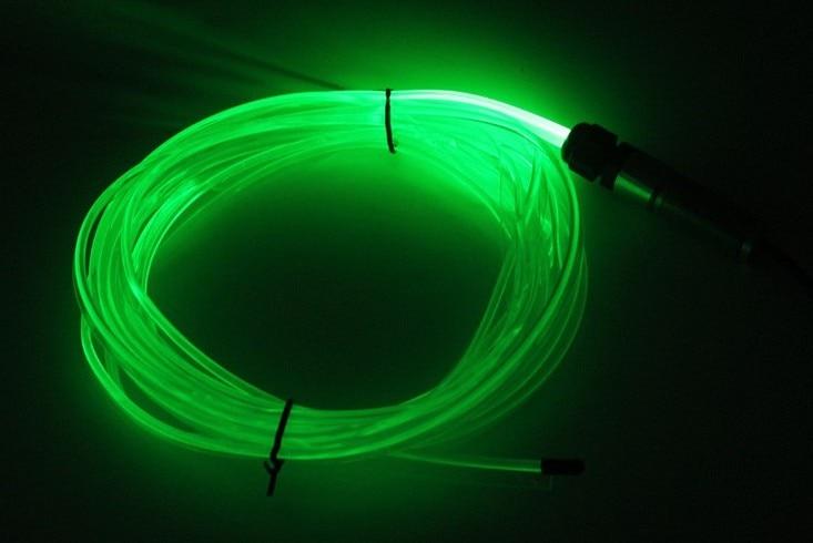 1 шт. х Высокое качество DC12V вход мини автомобиля волокна кабель освещения двигателя Оптическое волокно освещения осветитель