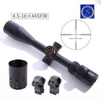 Shooter New Tactical Military ST 4.5 18x44SFI Rifle Scope For CS Game Hunting Shooting OS1 0353