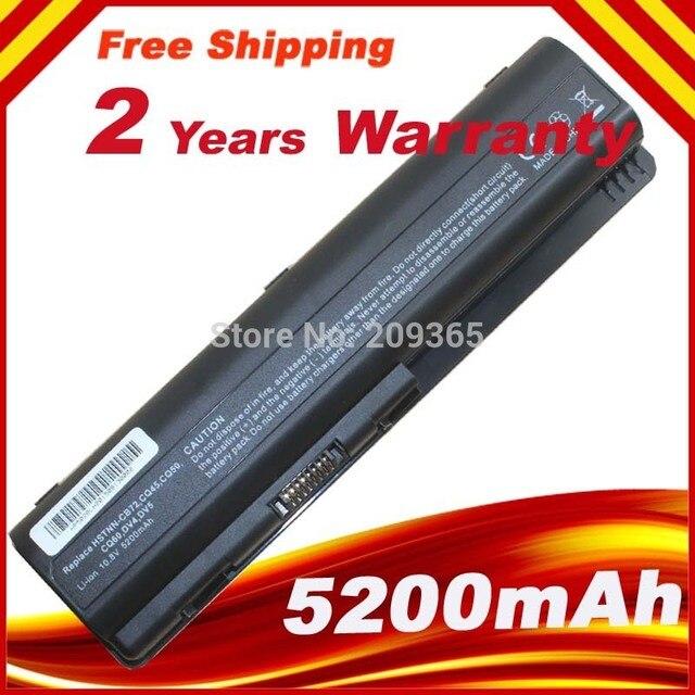 5200 mah 6 cellules pour ordinateur portable batterie pour hp ...