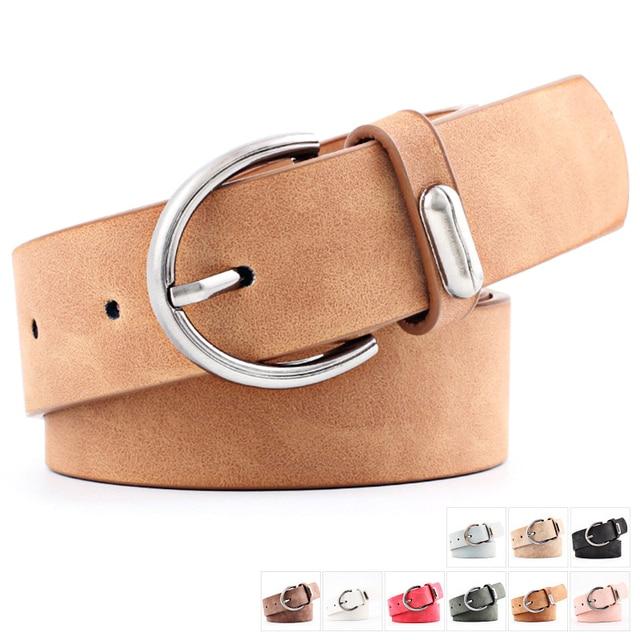 039d80963d Sale Girls Belt 1PC 2018 Arrival Adjustable Allergy Free Women High Quality  PU Leather Unique 9
