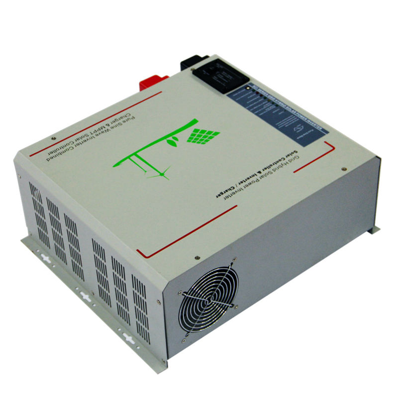 MAYLAR@48V 4000W Peak Power 8000W/12000VA Pure Sine Wave Solar Inverter Built-in 60A MPPT Controller With Communication,LCD Show