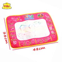 Free Shipping New Cartoon Magic Painting Play Mat With Magic Pen Baby Drawing Sheet Water Doodle