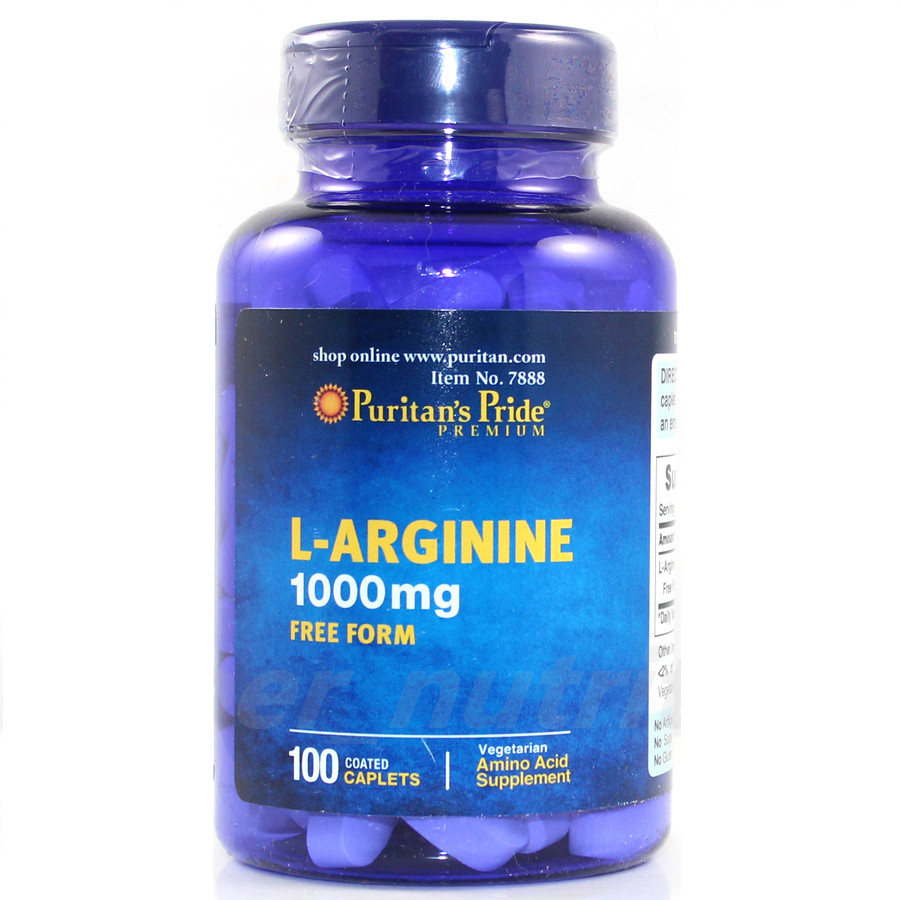 USA  L-Arginine 1000 mg-100 Capsules free shipping dong quai 530 mg traditional herb for women 100 capsules free shipping