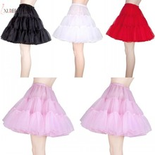Vintage Short Underskirt Bridal Wedding Dress Petticoat Crinoline Rockabilly Tutu Skirt Slips Accessories New