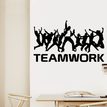 Modern team work Wall Stickers Decorative Sticker Home Decor Pvc Decals Decoration Wallpaper
