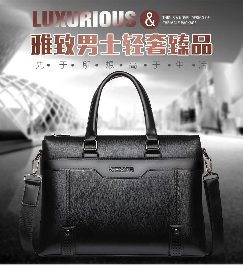 negócios ombro mensageiro sacos de escritório bolsa