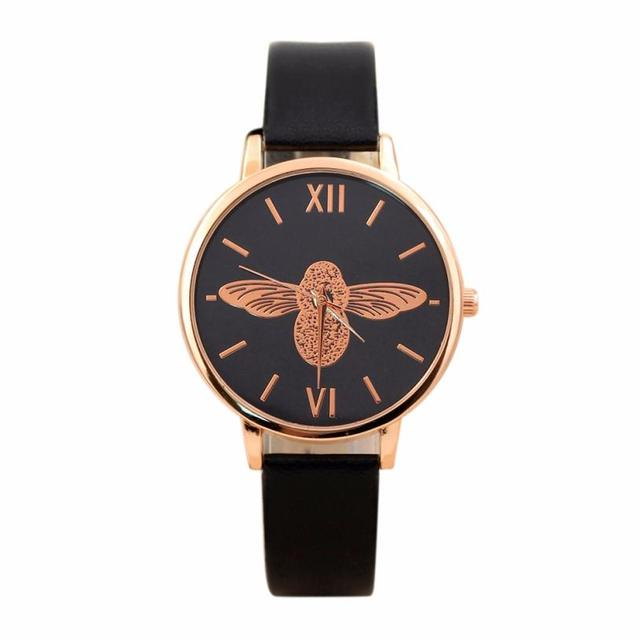 Luxury Brand Women Watches Elegant Dress Ladies Watch Color Strap Leather Strap