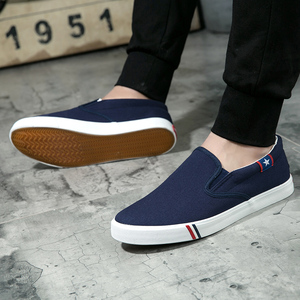 Image 2 - 2019 Spring Summer Breathable Mens Casual Shoes Men Loafers Lace Up Canvas Shoes Unisex Fashion Flats Plus Size Footwear 35 47