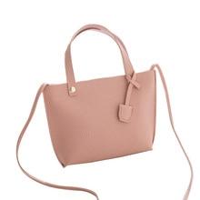 PU Bucket Type Ladies Portable Change Bag High Quality Messenger 2019 Summer New Women
