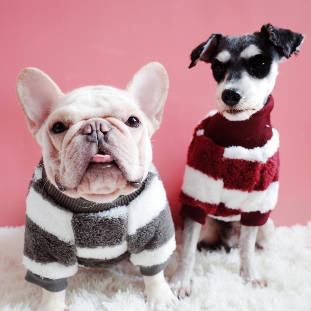 [MPK perro suéteres 2018 nuevo cuello alto suéter de perro muy cálido adecuado para frío invierno. 4 colores disponibles
