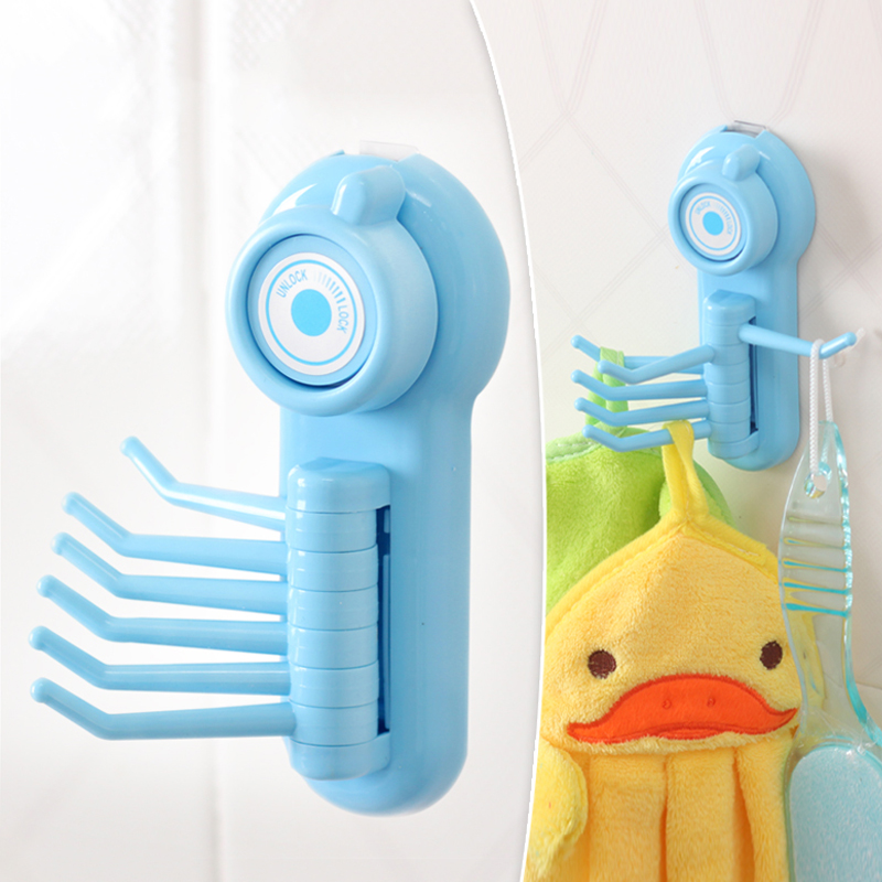 Powerful Home Products Towel  Key Shower Brush Sucker Holder  Suction - Home Storage and Organization