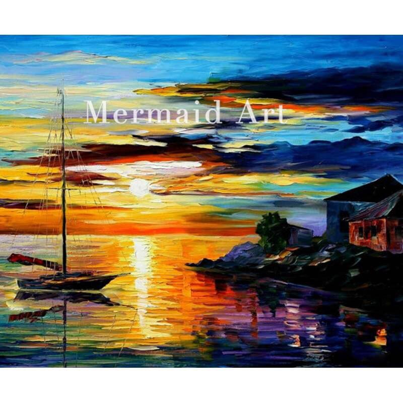 Immagini di Dipinti Di Paesaggi Marini A Tempera