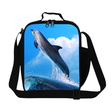 4 New Style Print neoprene Soft lunch bag Waterproof insulated lunch pouch mother baby bag Portable meal package