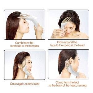 Новый Электрический Вибрационный массажер для головы Пальчиковый захват коготь массаж кожи головы расслабляющий расческа облегчение усталость Портативный здоровье careC1460