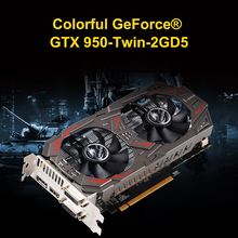 Coloful GTX950-Twin-2GD5 carte graphique 128bit 6600 MHZ GDDR5 \u0028occasion/seconde main\u0029