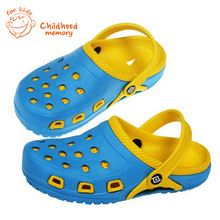 Classic Baby Hole Garden Shoes 2016 New Baby Beach Sandals Brand Casual Summer Slipper EVA Clogs For Baby Boys Girls Hollow